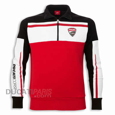 Sweat 1/2 zip Ducati Corse 14