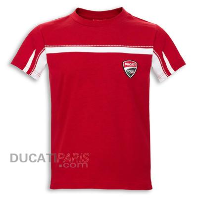 Tshirt Ducati Corse 14 Rouge pour Enfant