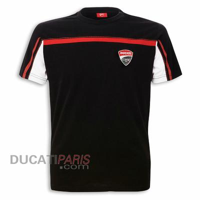 T-shirt Ducati Corse 14 Noir