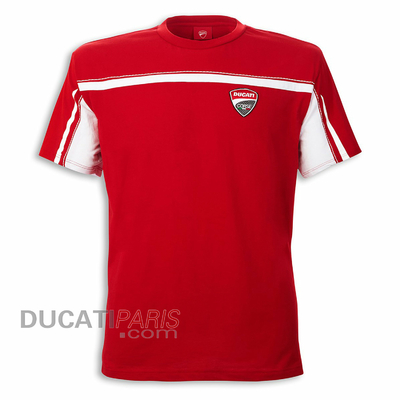 T-shirt Ducati Corse 14 Rouge
