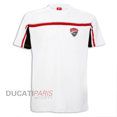 T-shirt Ducati Corse 14 Blanc