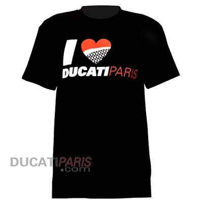 T-shirt I LOVE DUCATI PARIS