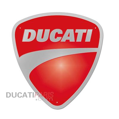 Enseigne en métal Ducati Company