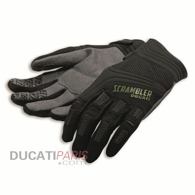 Gants Ducati Scrambler Overland Noir/Gris