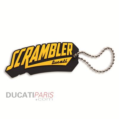 Porte-clés en caoutchouc Ducati Scrambler Scr