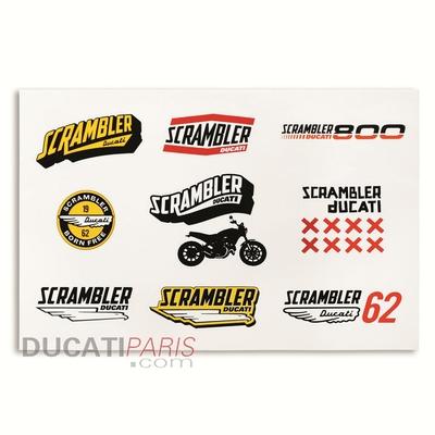 Autocollants Ducati Scrambler Lifestyle Logo
