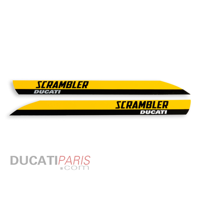 Jeu de logos Scrambler Full Throttle