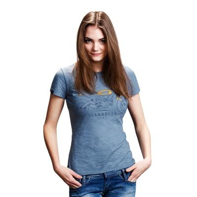 T-shirt Ducati Scrambler Heritage Femme