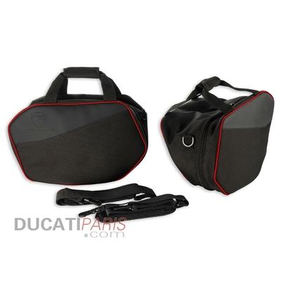 Ensemble de sacoches internes pour valises latérales Multistrada