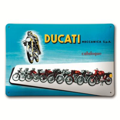 Plaque en métal Ducati Meccanica