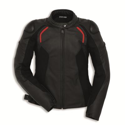 Blouson en cuir Ducati Stealth C2 Femme