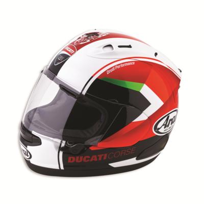 Casque intégral RX7-V Ducati Corse Red Arrow