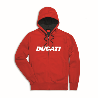 Sweat zippé à capuche Ducati Ducatiana