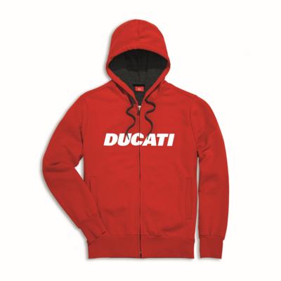 Sweat zippé à capuche Ducati Ducatiana