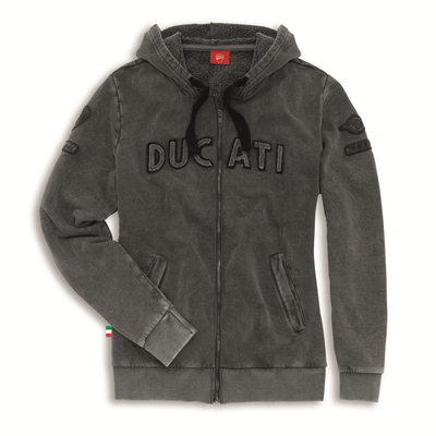 Sweat zippé Ducati Historical 15 Femme