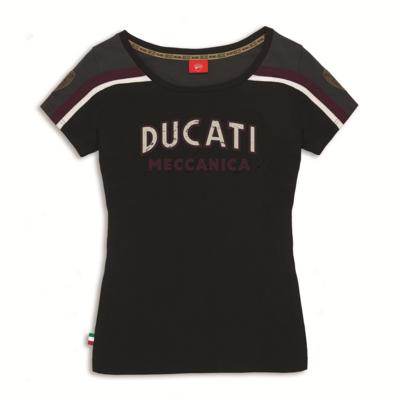 T-shirt Ducati Meccanica Femme