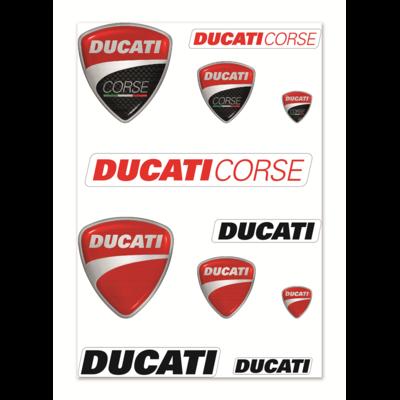 Autocollants Ducati Mix