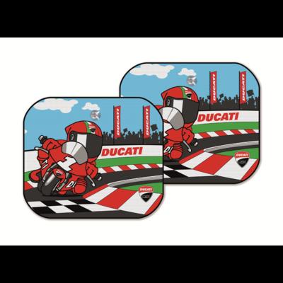 Rideaux pare-soleil Ducati Cartoon