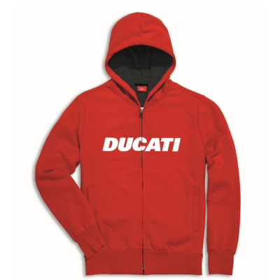 Sweat zippé à capuche Ducati Ducatiana Enfant
