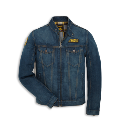 Blouson denim Ducati Scrambler Trucker Patch