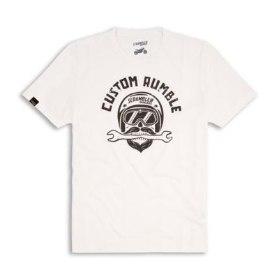 T-shirt Ducati Scrambler Custom Rumbler