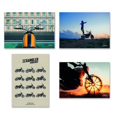 Poster Mix Ducati Scrambler