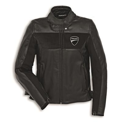 Blouson en cuir Ducati Company C2 Noir