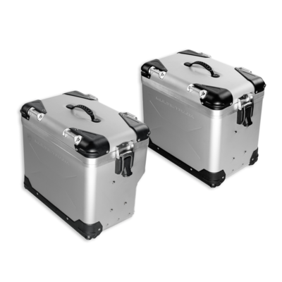 Jeu de valises latérales en aluminium Multistrada Enduro