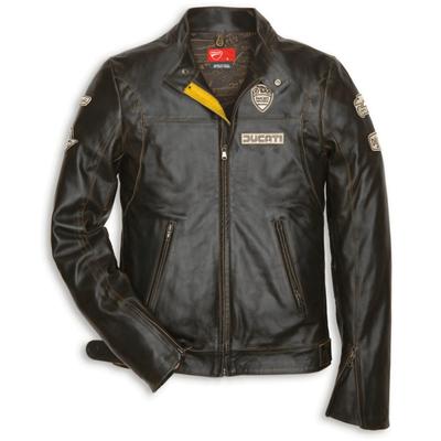 Blouson en cuir Ducati Historical 13