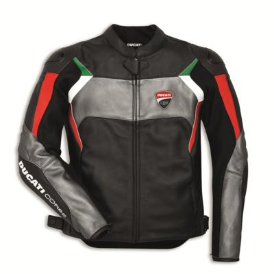 Blouson en cuir Ducati Corse C3 Noir