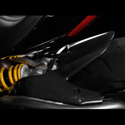 Garde-boue arrière en fibre de carbone Verni XDiavel