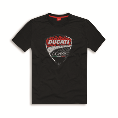 T-shirt Ducati Corse Sketch Noir