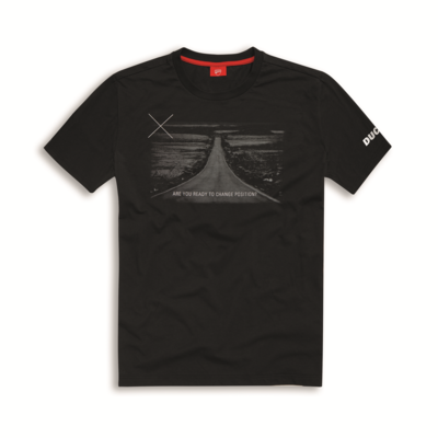 T-shirt Ducati Graphic Art Horizon