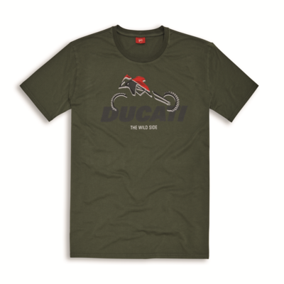 T-shirt Ducati Graphic Art Enduro