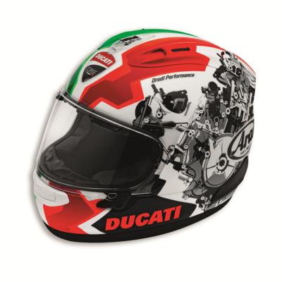 Casque intégral RX7-V Ducati Corse V2