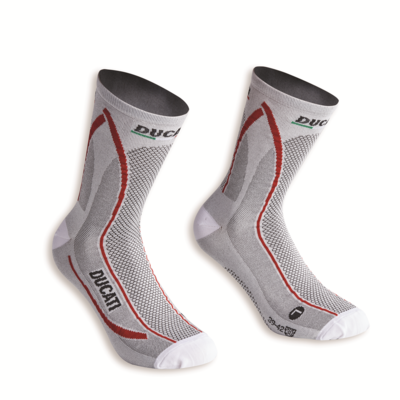Chaussettes Ducati Cool Down Blanc