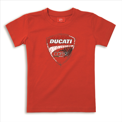 T-shirt Ducati Corse Sketch Enfant