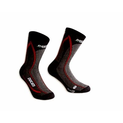 Chaussettes Ducati Cool Down Noir