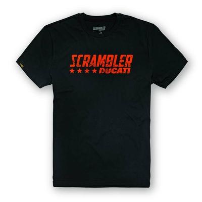 T-shirt Scrambler Black Flip