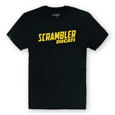 T-shirt Scrambler Milestone Black