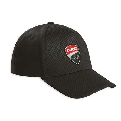 Casquette Ducati Corse Total Black