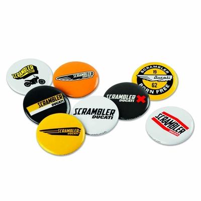 Set de badges Ducati Scrambler Logos