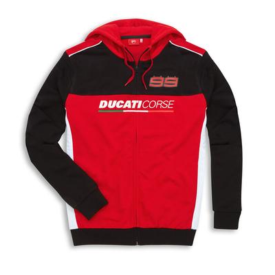 Sweat à capuche Ducati D99 Lorenzo