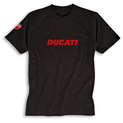 T-shirt Ducatiana noir