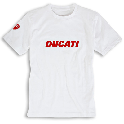 T-shirt Ducatiana blanc