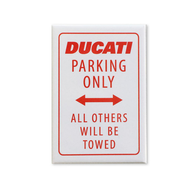 Magnet Ducati Parking Only