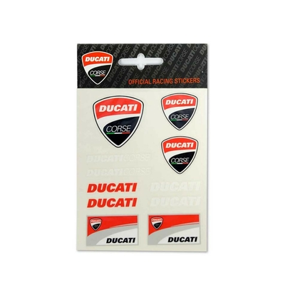Stickers Ducati Racing Small