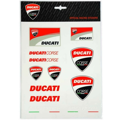 Stickers Ducati Racing Big