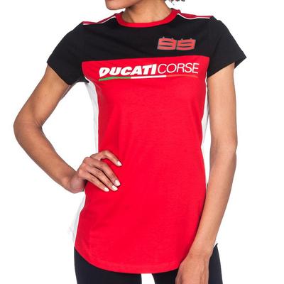 T-shirt Ducati Corse D99 Lorenzo Femme