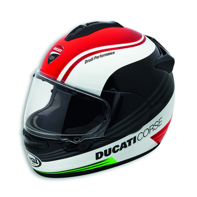 Casque Intégral Ducati Corse SBK 3 Racing Rouge